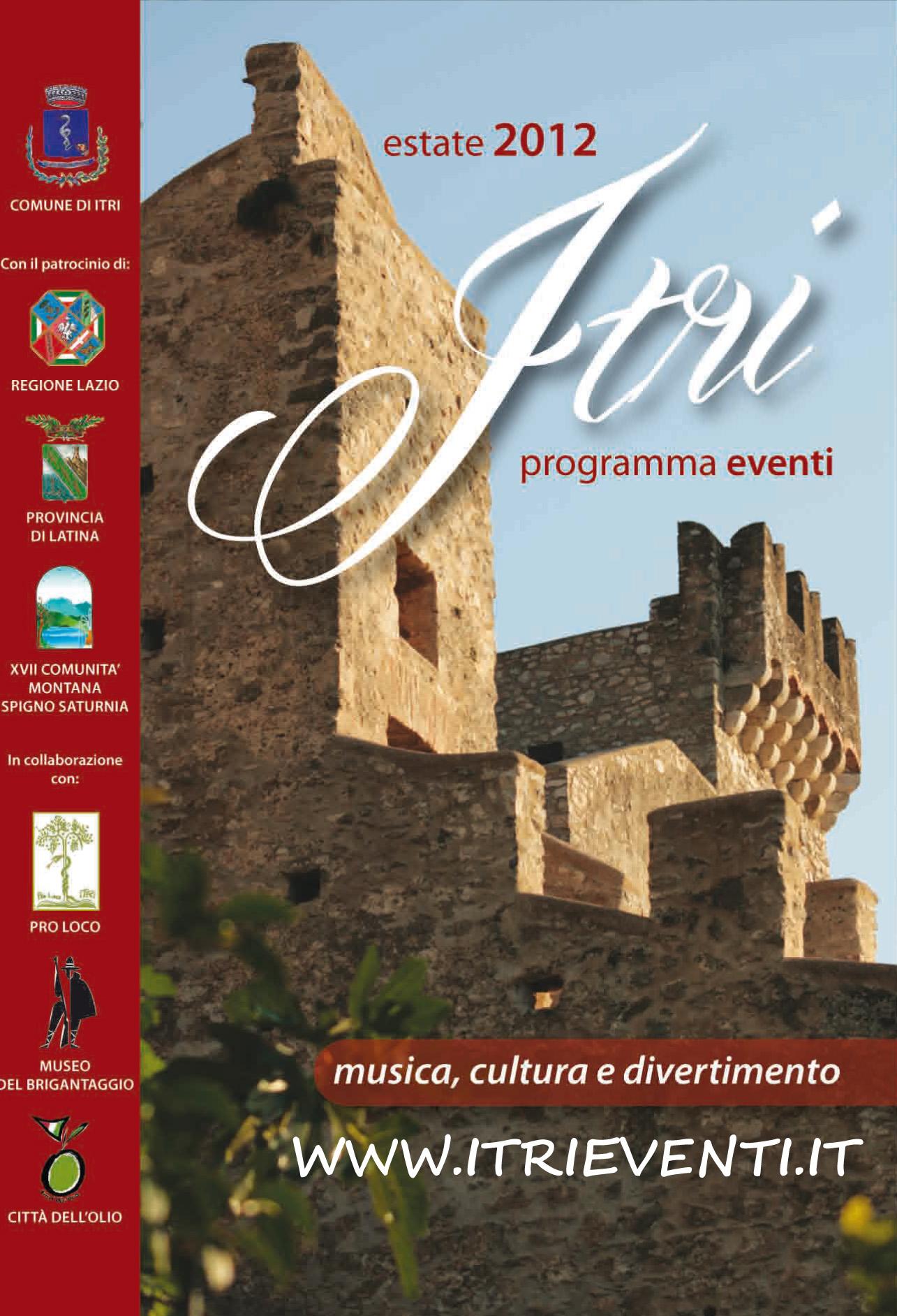 Programma ITRIeventi estate2012