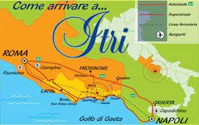 Come arrivare a Itri